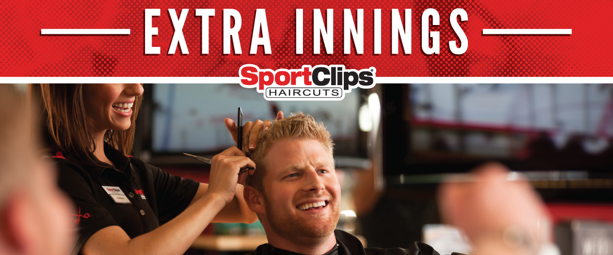 The Sport Clips Haircuts of Peoria - Lake Pleasant Crossing  Extra Innings Offerings
